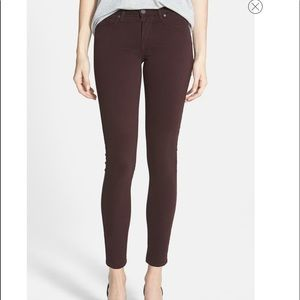 New without tags Paige Verdugo Ultra Skinny maroon